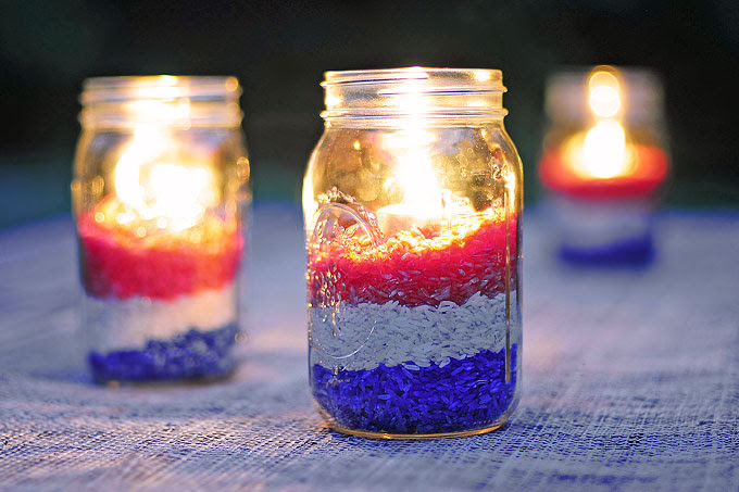 Red White And Blue Centerpiece Ideas My Web Value