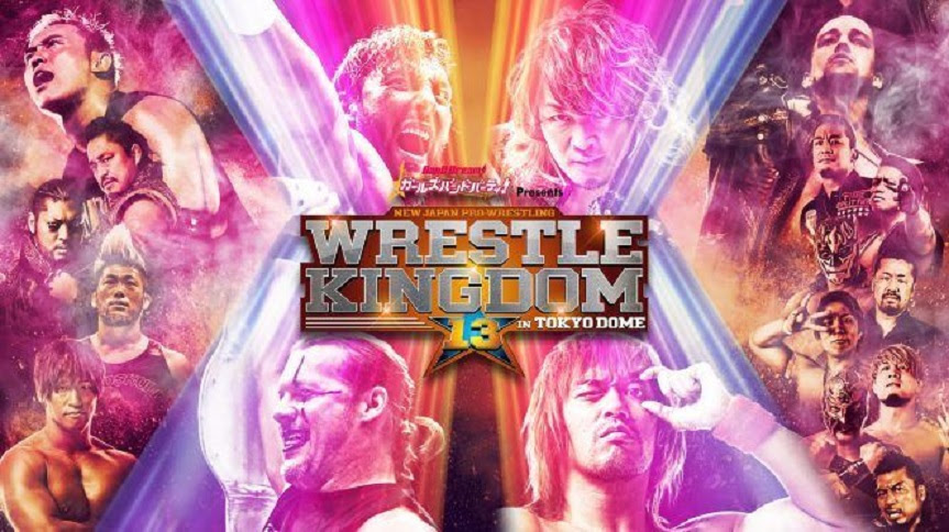 Image result for wrestle kingdom 13 poster