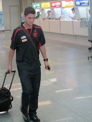Thiago Neves chegada Flamengo (Foto: Janir Júnior / Globoesporte.com)