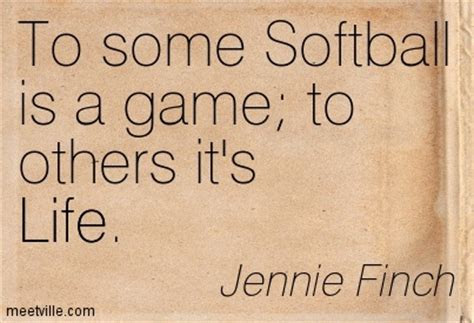 Famous Softball Quotes From Jennie Finch