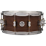 """PDP Limited Edition Maple Walnut Shell 6.5""""x14"""" Snare Drum Natural Satin Finish"""
