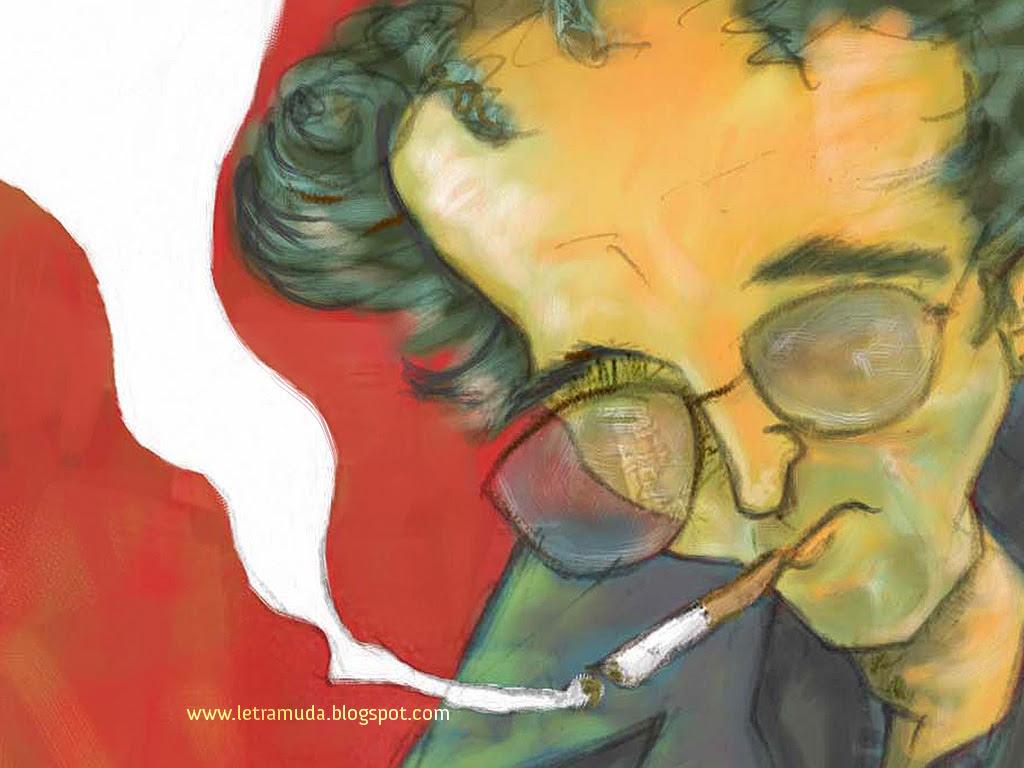 Wallpaper de Roberto Bolaño 1024*768