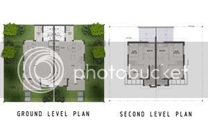 Twin Homes Floor Plan