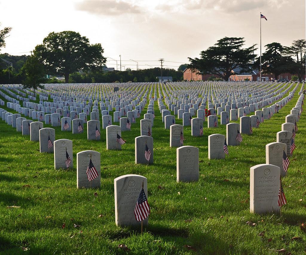 Hampton National Cemetery - Memorial Day 2010 (2)