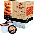 Gloria Jeans Keurig Hot Coffee, Medium Roast, Macadamia Cookie, K-Cup Pods - 18 pack, 0.34 oz packs