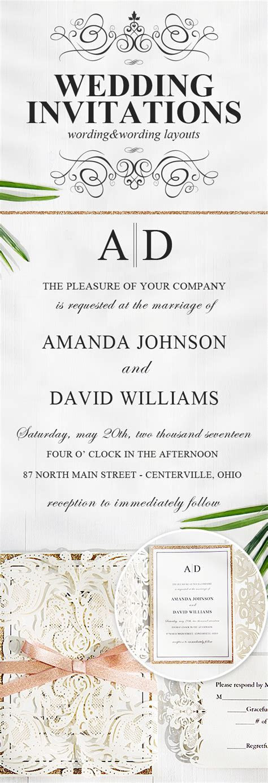 Wedding Invitation: Creative Wedding Invitation Wording