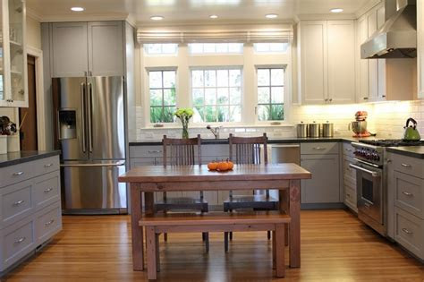 toned kitchen cabinets  contemporary inspiration