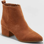 Women's A New Day Valerie Microsuede City Ankle Bootie
