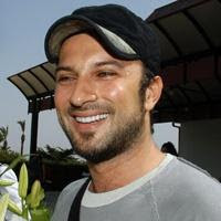 Tarkan outside Antalya airport, May 2007