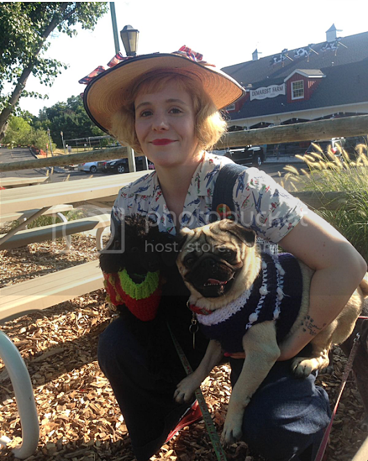 Meet Kate Dutcher: The stylish jazz age wearing, passionate pet mama behind the blog Retro Rover