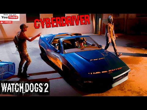 WATCH DOGS 2 FUNNY MOMENTS CIBERDRIVER ESCAPE GAMEPLAY