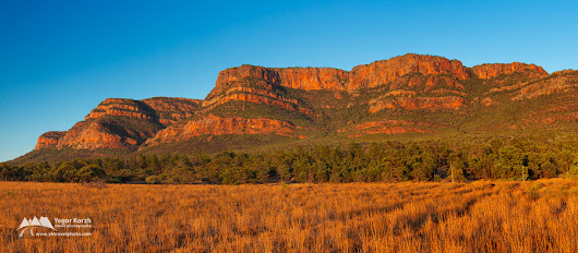 Rawnsley Bluff, Flinders Ranges National Park, South Australia, Australia