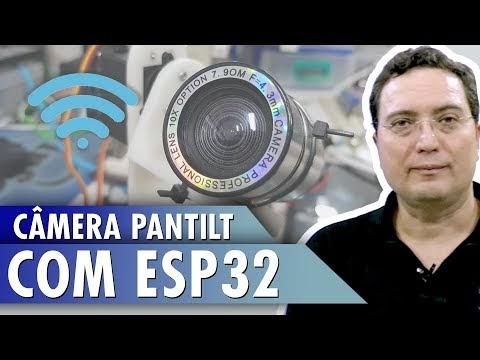 Câmera PANTILT com ESP32