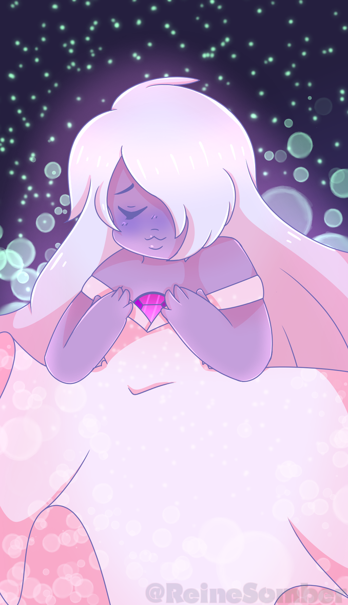 Finally got to finishing Amethyst <3 I would've had this posted a few days ago but I kept going back and editing ~ I really loved the way the Pearl picture came out so I decided to do Amethyst ~...