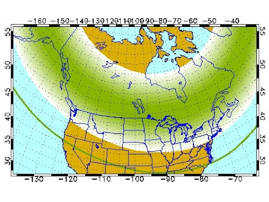 Northern Lights May Be Visible Over NYC Tonight | Patch