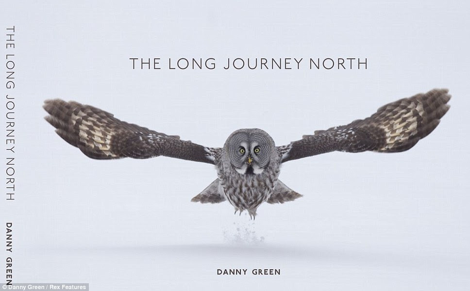 The front cover of the stunning self published 200-page coffee  table book featuring images by Danny Green