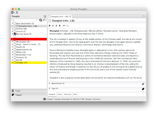 Preview: ST 2.0 for Mac OS X and Windows | Sorting Thoughts - the simple and private note-taking app
