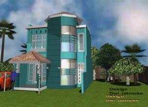 Desain rumah sederhana model parangtritis