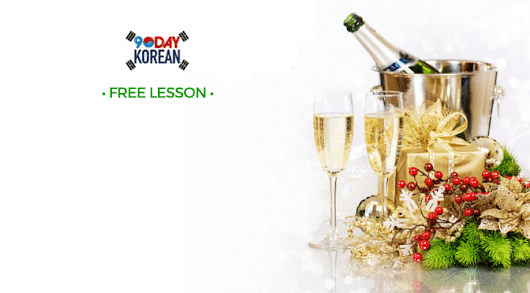 Korean Vocabulary Words for New Year's 2016 | 90 Day Korean