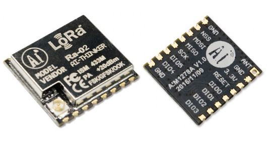 433 MHz LoRa Modules Are Now Selling for $6 and Up