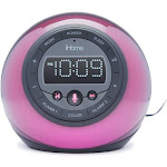 Ihome iBT297 Color-Changing Bluetooth Clock Radio