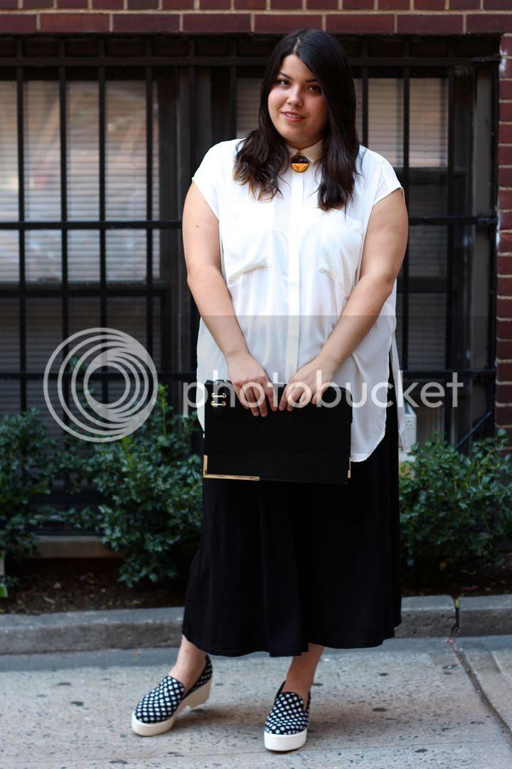 plus size fashion new york nyfw15 NYFW Yours Clothing Culottes Monki Fat Fashion