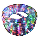 LED Color Changing 18ft Rope Light w/remote
