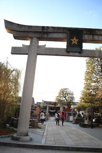 Seimei Jinja Shrine gate