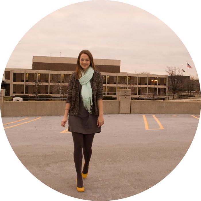 dash dot dotty, winter outfit, yellow heels, turquoise scarf, zara cardigan, silk cfan dress, workfit, what to wear to work