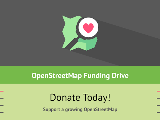 Donate to OpenStreetMap
