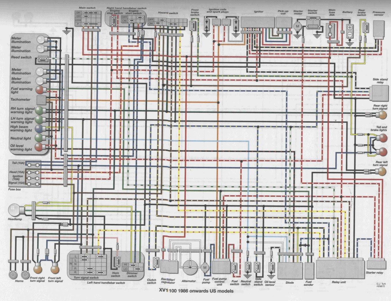 93 Yamaha Virago Wiring Diagram - Wiring Diagram Networks Wiring Diagram Networks - blogger