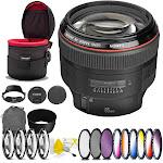 """""""Canon EF 85mm f/1.2L II USM Lens with 72mm Filter Kit Bundle"""""""