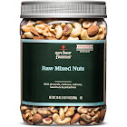 Unsalted Raw Deluxe Nuts - 30oz - Archer Farms