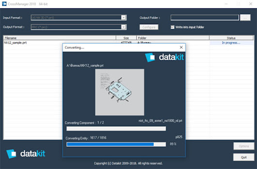 Datakit announces the version 2018.1 of its CAD conversion tools | Bimoutsourcing