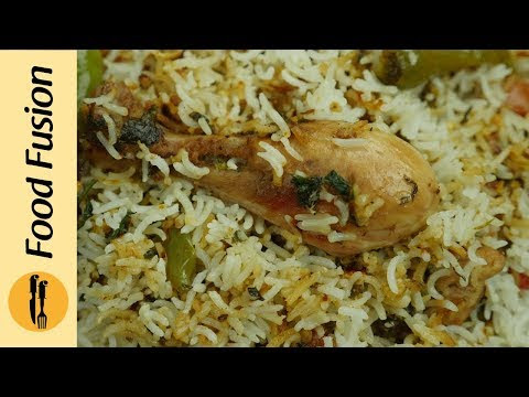 Hara Masala Biryani Recipe By Food Fusion