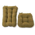Greendale Home Fashions Jumbo Rocking Chair Cushion Set Hyatt Fabric Moss