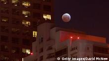 Los Angeles Mondfinsternis