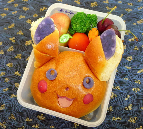 Pikachu Bao Bento by sherimiya ♥