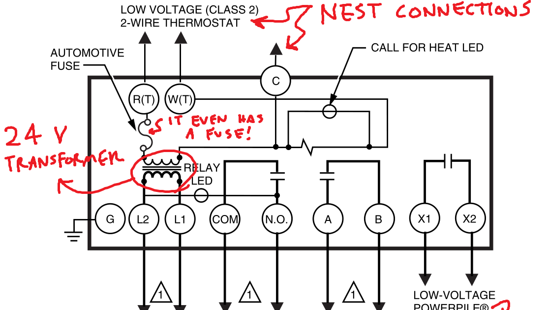 Nest E Wiring Diagram 2 Wire