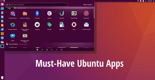 20 Must-Have Ubuntu Apps in 2017