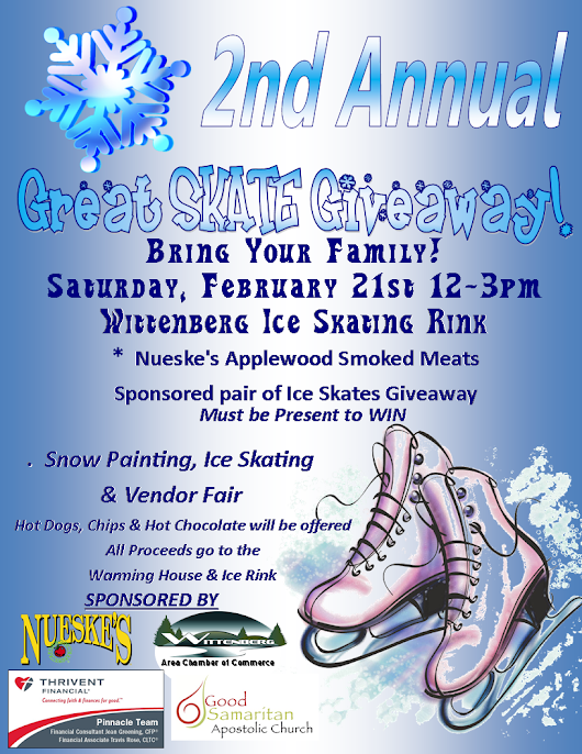 2nd Annual GREAT SKATE GIVEAWAY!