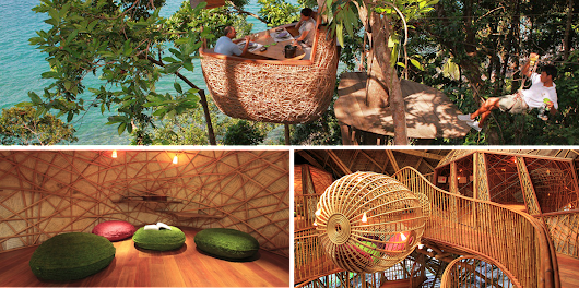 A luxury eco-resort in Thailand!