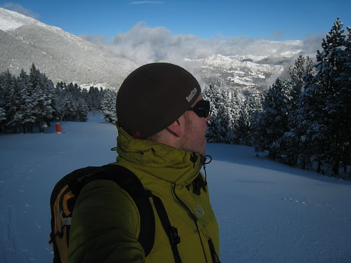 Powder skiing 1st of December!