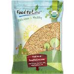 Food to Live Organic Brown Basmati Rice, 5 Pounds - Raw, Long Grain, Non-GMO, Kosher, Bulk