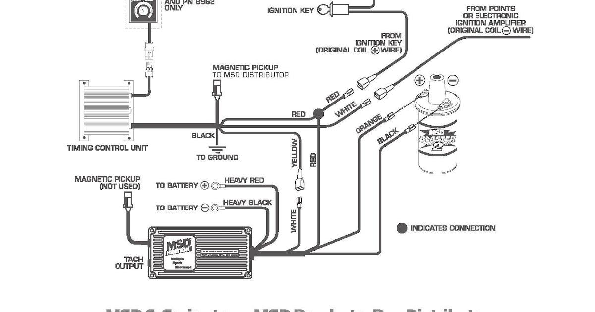 Wiring Diagram: 30 Msd Hei Distributor Wiring Diagram