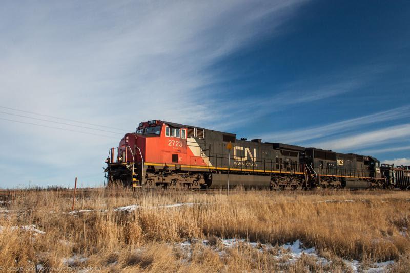 IC 2723 in Winnipeg