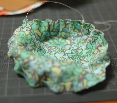 How to make a leather bottom pincushion 13