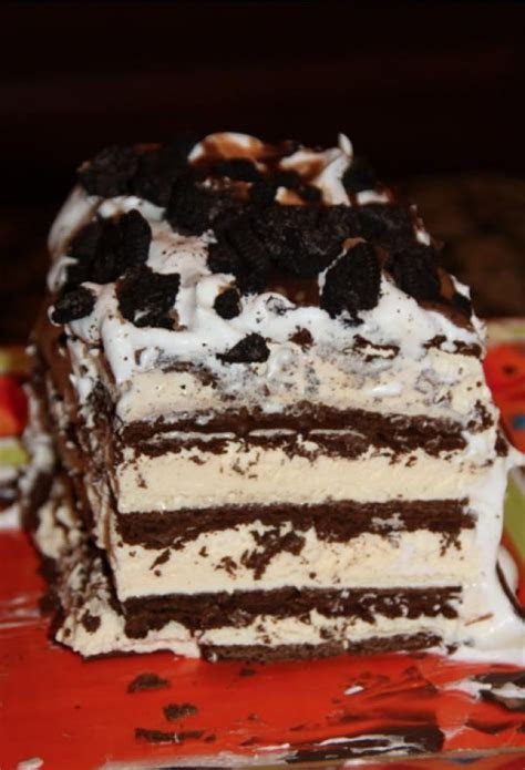 DIY Make No Back Ice Cream Cake