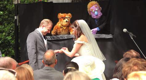 A Hilarious, Memorable Wedding Ceremony In California