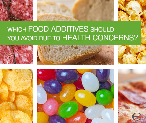 EWG's Dirty Dozen Guide to Food Additives
